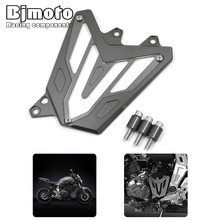 Buy Motorcycle Scooter Front Sprocket Cover Panel Left Engine Guard Chain Cover Yamaha MT-07 2013-2016 FZ-07 2015-2016 for $23.74 in AliExpress store