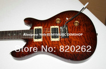 New Arrival Honey Burst  Custom 24 Frets Electric Guitar High Quality Wholesale Guitars Free Shipng
