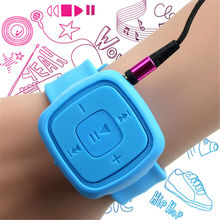 Wrist MP3 Player Watches with TF Card Slot Music Playing for Sports USB Flash