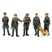 OHS Tamiya 35320 1/35 German Field Military Police WWII Set Miniatures Assembly Military figures Model Building Kits TTH