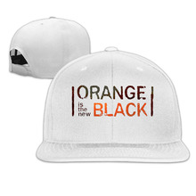 Orange Is The New Black Baseball Fitted Hat Casual Cap Gorras Hip Hop Snapback Hats Wash Cap For Men Women Unisex