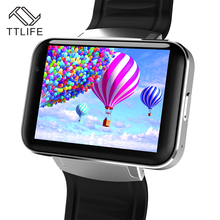 TTLIFE Brand Smart Watches DM98 Camera Smart Clock 3G WIFI GPS Watch MT6572A Dual Core CPU Smart Watch For Android Phone Unisex