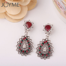 Boho Vintage Retro Silver Plated Clip Earrings Without Piercing for Women Party Charm No Hole Ear Clip Geometric Earring(China)