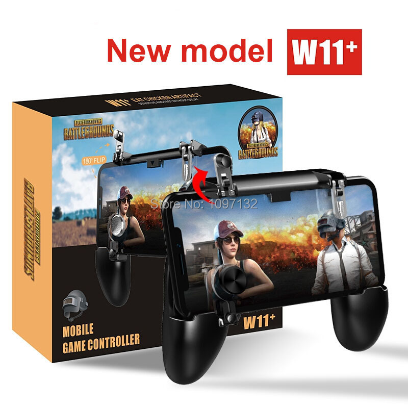 PUBG Mobile Game Controller Gamepad Trigger Aim Button L1R1 Shooter Joystick For IPhone Android Phone For Game Pad Accesorios (6)