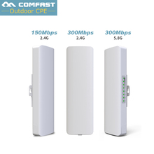 Comfast Wireless outdoor router 2.4G/5G 150Mbps-300Mbps WIFI signal booster Amplifier Network bridge wi fi access point Nanostat