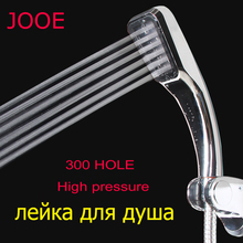 jooe Bathroom Shower Head Handheld 300 Hole Square High Prssure Water Saving douchekop Rainfall Chuveiro Ducha j008