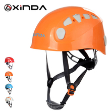 Xinda Professional Mountaineer Rock Climbing Helmet Safety Protect Outdoor Camping & Hiking Riding Helmet Survival Kit