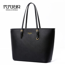 DORIA DORE Large Capacity Luxury Women Handbags michaeled Bags Same Style Brand Leather Tote Bags Large Capacity Bags sac a main