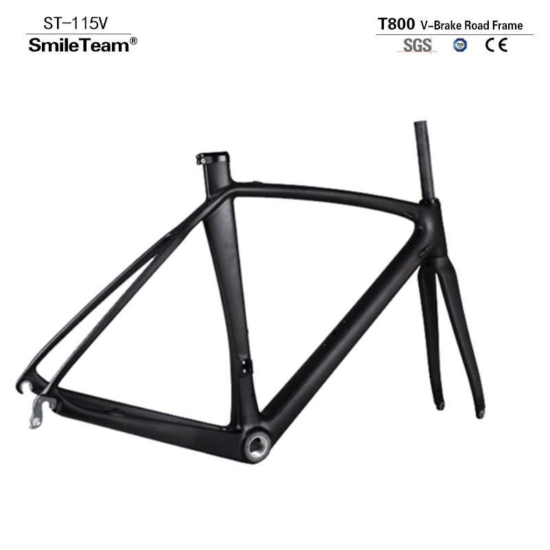 2017 NEW Carbon Fiber Bicycle Frame Di2 Mechanical Carbon Road Racing Frame Fork+Seatpost+Headset Carbon Road Bike