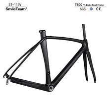 Buy 2017 NEW Carbon Fiber Bicycle Frame Di2 Mechanical Carbon Road Racing Frame Fork+Seatpost+Headset Carbon Road Bike for $539.80 in AliExpress store
