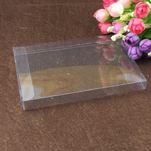 30pcs 1*10*10cm clear plastic pvc box packing boxes for gifts/chocolate/candy/cosmetic/crafts square transparent pvc Box