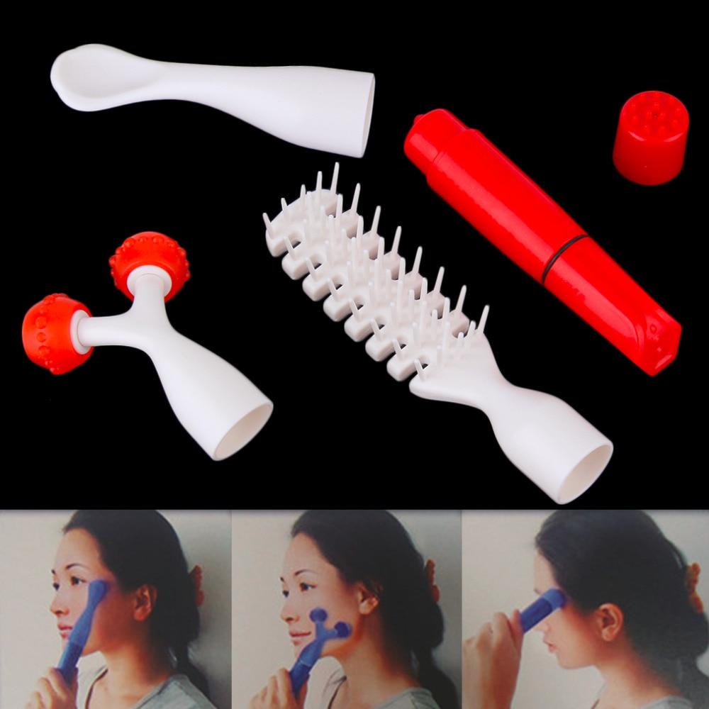 Hot Selling Multifunction Face Scalp Roller Multi-point Massage Vibration Massager Set<br><br>Aliexpress