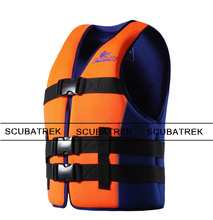 adult life vest neoprene floating vest swim life jacket surfing vest(China (Mainland))