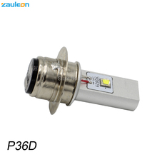 Buy 1pcs P36D BPF LED Motorcycle Headlight 6~24V 20W 970LM XM-L2 6500K Vintage Motor scooter P36D LED headlamp bulb for $16.09 in AliExpress store