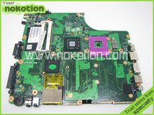 V000125820 1310A2169906 REV 2.01 For Toshiba Satellite A300 A305 Laptop motherboard GM45 DDR2 Socket 478 Mainboard