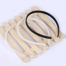 10mm DIY plastic headband, teeth, headwear headdres accessories 100pcs(White/Black)