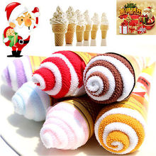 New Candy Color Practical Luxury Soft Fiber Cotton Face Hand Cloth Towel 20*20cm