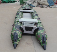 GTK420 Goethe Camo Inflatable Kayaks