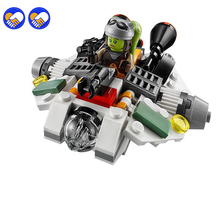 A toy A dream LEPIN 05013 Wars Frist Order Ghost Ship Micro Fighters Building Block Toys Gift(China)
