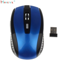 Adroit Portable 2.4G Wireless Optical Mouse Mice For Computer PC Laptop Gamer JAN12