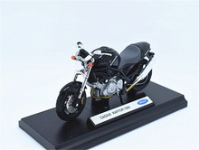 1:18 Welly CAGIVA RAPTOR 1000 Motorcycle Bike Model New in Box Black