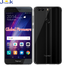 Original Huawei Honor 8 Global Firmware 4G LTE Mobile Phone Double-sided glass body 5.2 inch Screen Dual Rear Camera 12MP*2