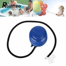 1pcs Foot Balloon Pump Balloons Foot Balls Inflator Hand Push Air Pump Party Supplies swimming pool Fitness Ball Pump Accessory