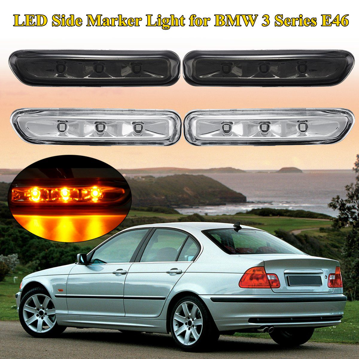 Vehicle Parts Accessories External Lights Indicators Fits Bmw 3