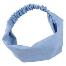 Women Hair band New hairbands Denim fashion style high quality head hoop exercises ladys were wash bath grils hair accessories