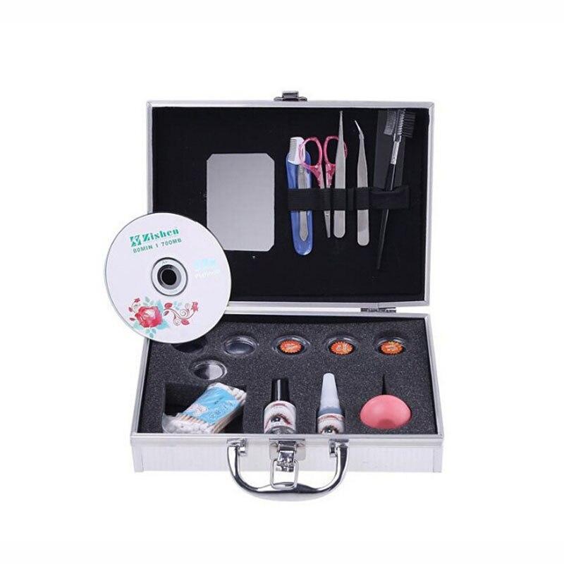 False Eyelashes Extension Kit Professional  Grafting Curler False Eyelash Growth Full Set With Box For Makeup Set<br>