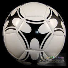 High quality Size5 TPU  soccer ball, football, official size and weight  black and white