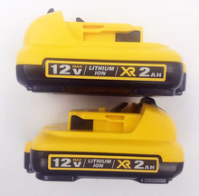 2pcs New DCB127 12V MAX Premium XR 2.0Ah Lithium-Ion Battery Pack for Dewalt Electric Tools