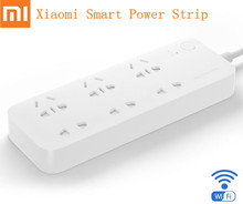 Original Xiaomi Mijia Smart Power Strip Intelligent 6 Ports WiFi Wireless Remote Power on/off with Phone APP Control