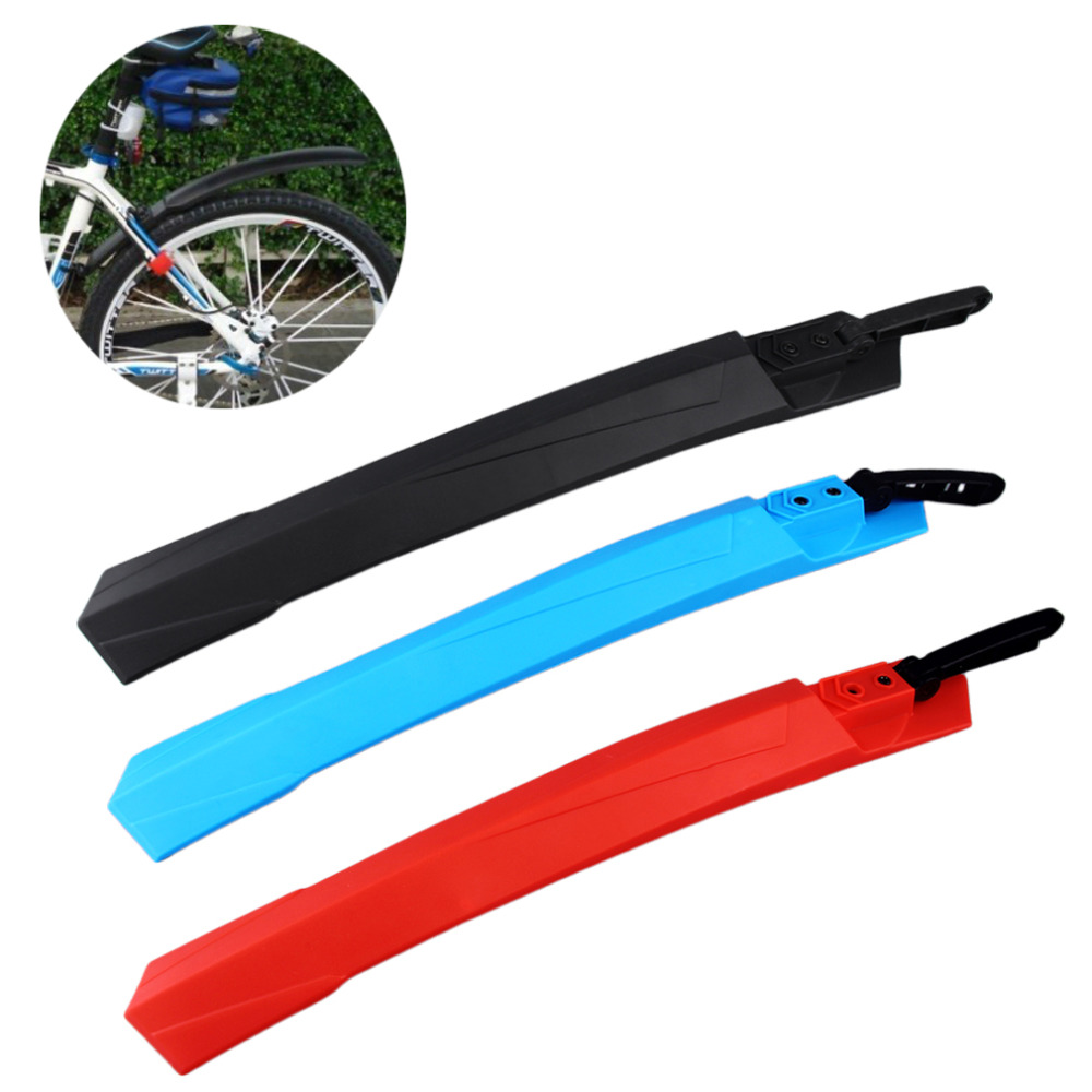 3 Color Mountain Bike Mudguard Front Rear Quick Release Cycling Bicycle Fenders Wings Stand Rack Mud Guard Accessories hot