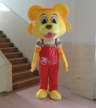 Chinese red clothes Tiger Mascot costume Christma fur Cartoon Mascot Costume Character Costume for Adult