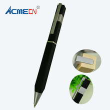 ACMECN Aluminium Ballpoint Pen Square Elegant Design Business Ball Pen 38g metal Heavy Pen Office Writing Gold Creative Pen Ball