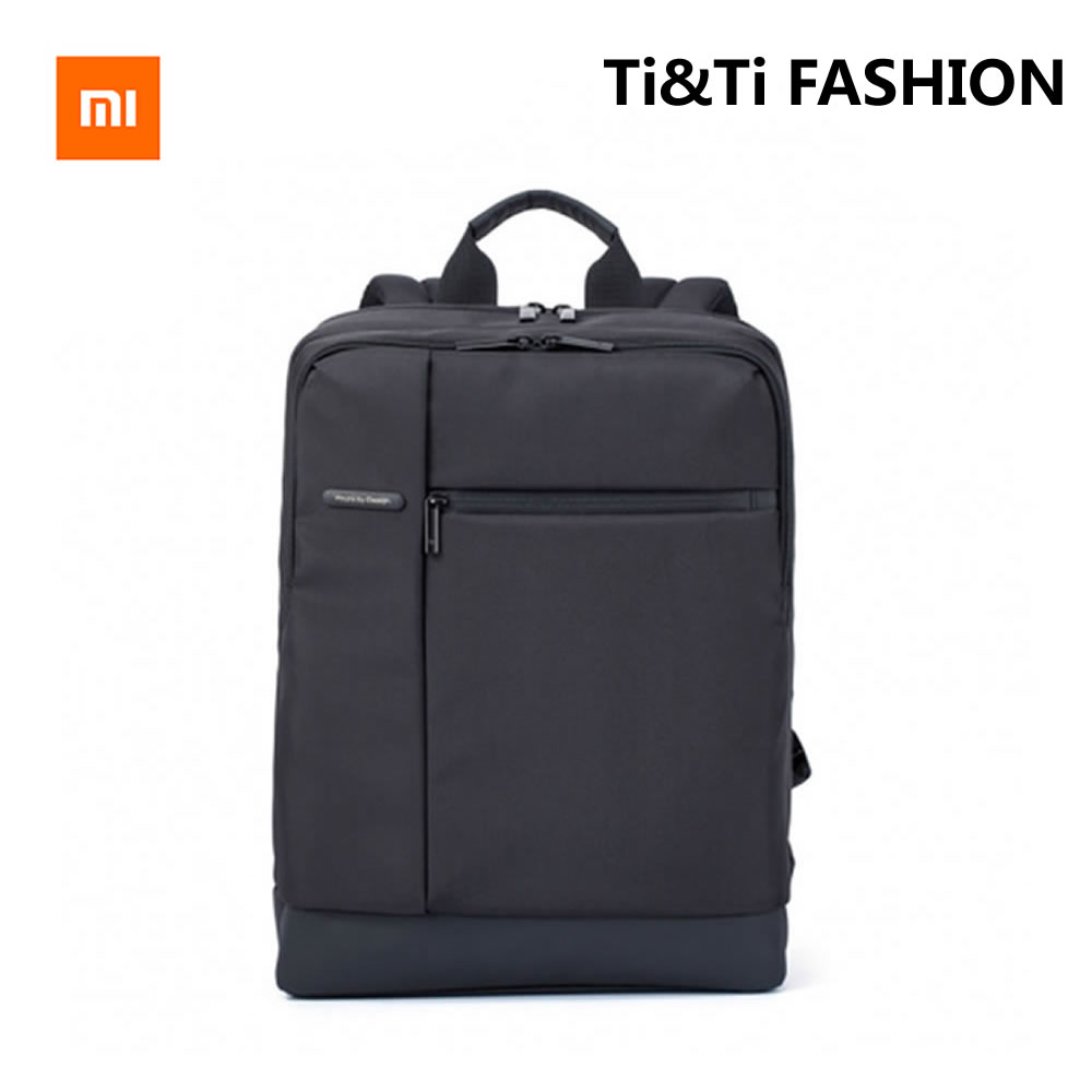 Original Xiaomi Classic Business Backpack 17L Large Capacity Can Contain for 15inch Laptop Mi Backpack  Vogue Man/Women Backpack<br>