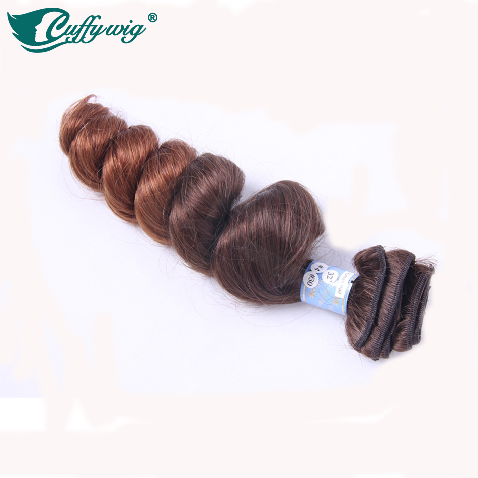 Grade 8A Human Hair Ombre Clip in Hair Extensions Two Tone Color #4/#30 Bouncy Curly Brazilian Ombre Clip ins Free Shipping<br><br>Aliexpress