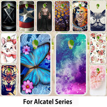 TAOYUNXI Чехлы для Alcatel U5 1X 3g HD 4047 5044D случае Alcatel 3 1 A3 A5 плюс крышка для Alcatel OneTouch Pixi 4 5045D OT403(China)