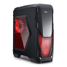 Original Segotep Blade Mid Tower Gaming Computer Case Support ATX M-ATX ITX Motherboard Tool-free SSD, HDD, and CD Installation(China)