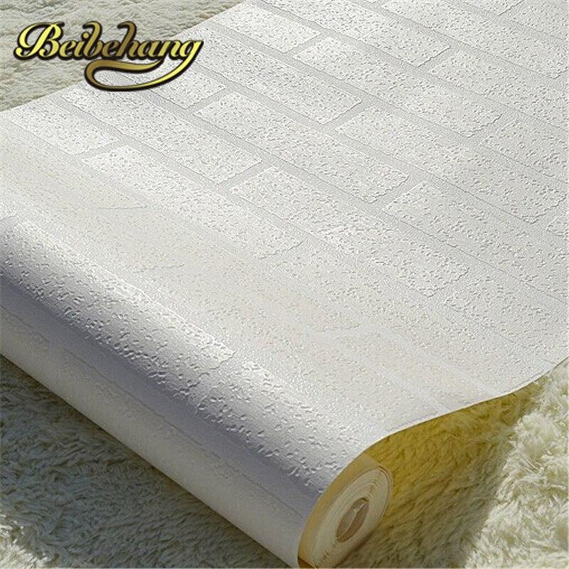 beibehang papel de parede. 3d modern design brick wallpaper roll vinyl Wall covering wallpaper for background living room dinni<br>