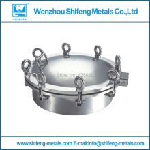 150mm Food grade stainless steel 304 round manhole cover