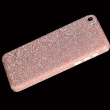 Full Body Glitter Bling Sticker For iPhone 5C Strass Coque Luxury Shining Skin Cover Case For Apple iPhone 5C Funda Capa Capinha