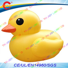 free air shipping,5m/6m giant  Advertising Inflatable  promotion animal,air Yellow Duck  model