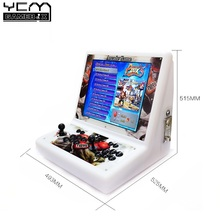 2Player Arcade Game Machine With LCD Screen Pandora 5 960Games in 1 Copy Sanwa Joystick KOF Game Machine with Coin Acceptor(China)