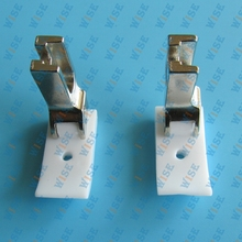 2 PCS TEFLON SEWING LEFT HINGED PIPING CORDING FOOT #36069LH =T69L important: choose you wanted size from product description