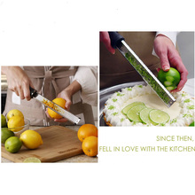 1pc Stainless Steel Cheese Citrus Oranges Fruit Classic Lemon Grater Vegetables Grater Zester Kitchen Cooking Tools YL877888(China)