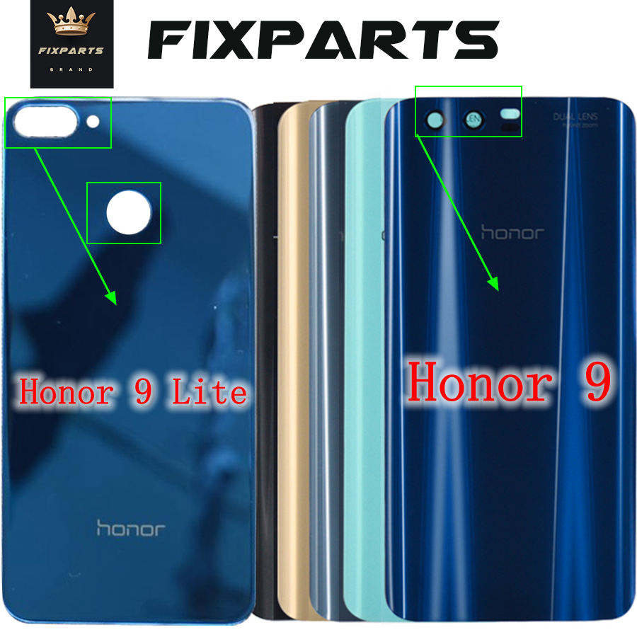 Huawei Housing Cover Back-Battery Honor Rear 9-Lite Glass for Door title=