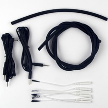 4X6mm Conductive Rubber Tube Homemade Electrodes DIY Kit  Monopolar Conductive Loops Cock and Ball