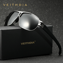 VEITHDIA Brand Designer Men's Sunglasses Polarized Len Sun Glasses Male Eyewear Accessories For Men oculos de sol masculino 8516